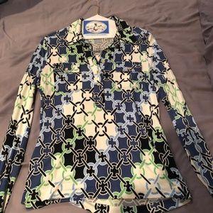 Tori Burch Patterned Shirt